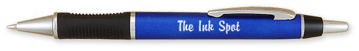 Brilliant Promotional Rubber Grip Pens
