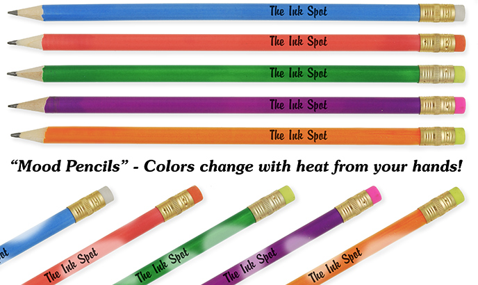 Personalized Hologram Laser Gem Pencils